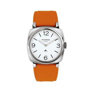 Montre Gaillon orange Augarde