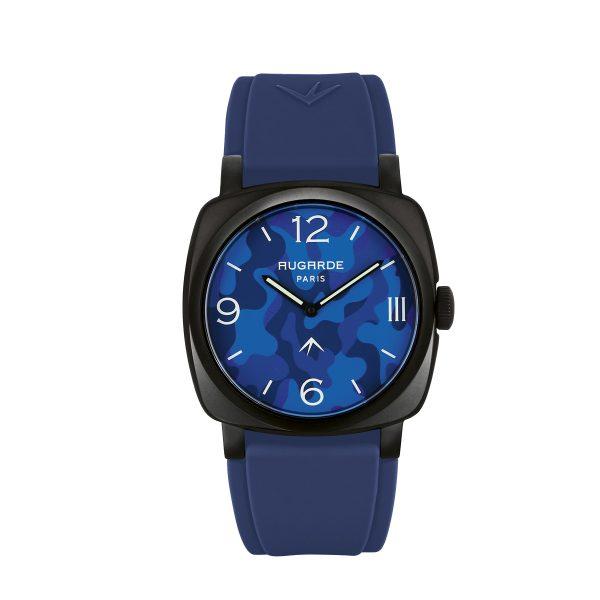 Montre camouflage bleu Augarde Monceau