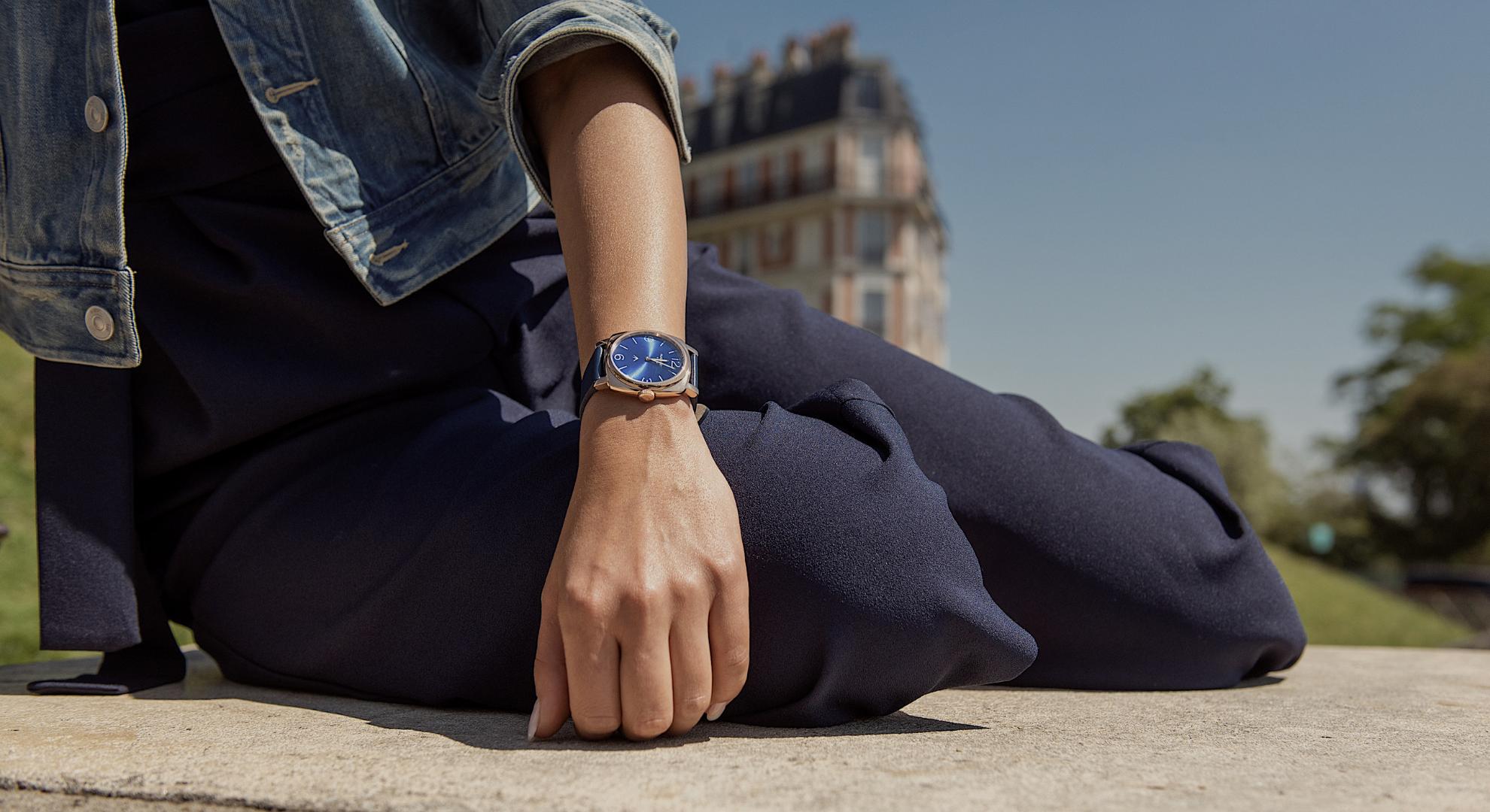 Montres Femmes Augarde Montmartre Bleu