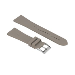 bracelet interchangeable silicone fin taupe